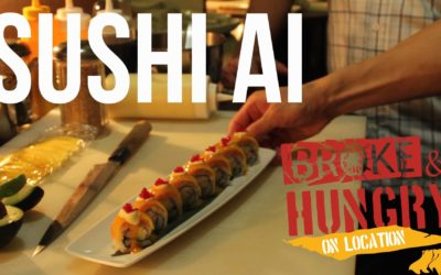Broke and Hungry On Location: Sushi AI
